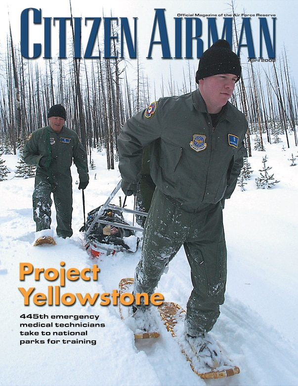 The April edition of Citizen Airman magazine is now available.  (Courtesy photo)