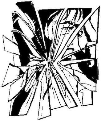 Suicide Prevention (b/w), Illustration by Virginia Reyes, AFNEWS/NSPD
