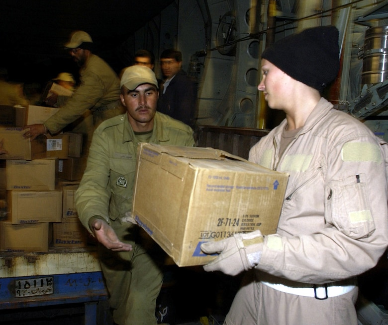 Iran aid