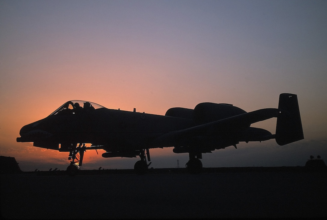 1990's -- The A-10 Thunderbolt II is the first Air Force aircraft specially designed for close air support of ground forces. They are simple, effective and survivable twin-engine jet aircraft that can be used against all ground targets, including tanks and other armored vehicles. (U.S. Air Force photo by Senior Airman Greg L. Davis)