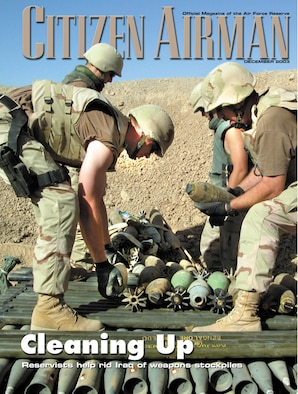 ROBINS AIR FORCE BASE, Ga. -- The December issue of Citizen Airman is now available.  (Courtesy art)