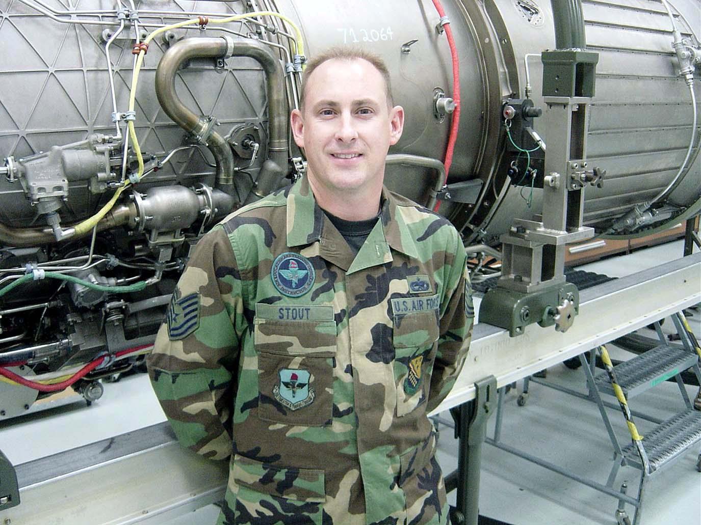 crew chief follows  sets example  u0026gt  u s  air force