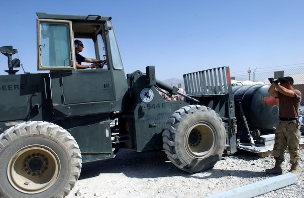 TMO packs it, tracks it in Afghanistan