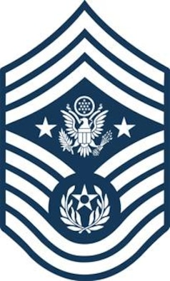 Chief Master Sergeant of the Air Force (Blue color), U.S. Air Force graphic