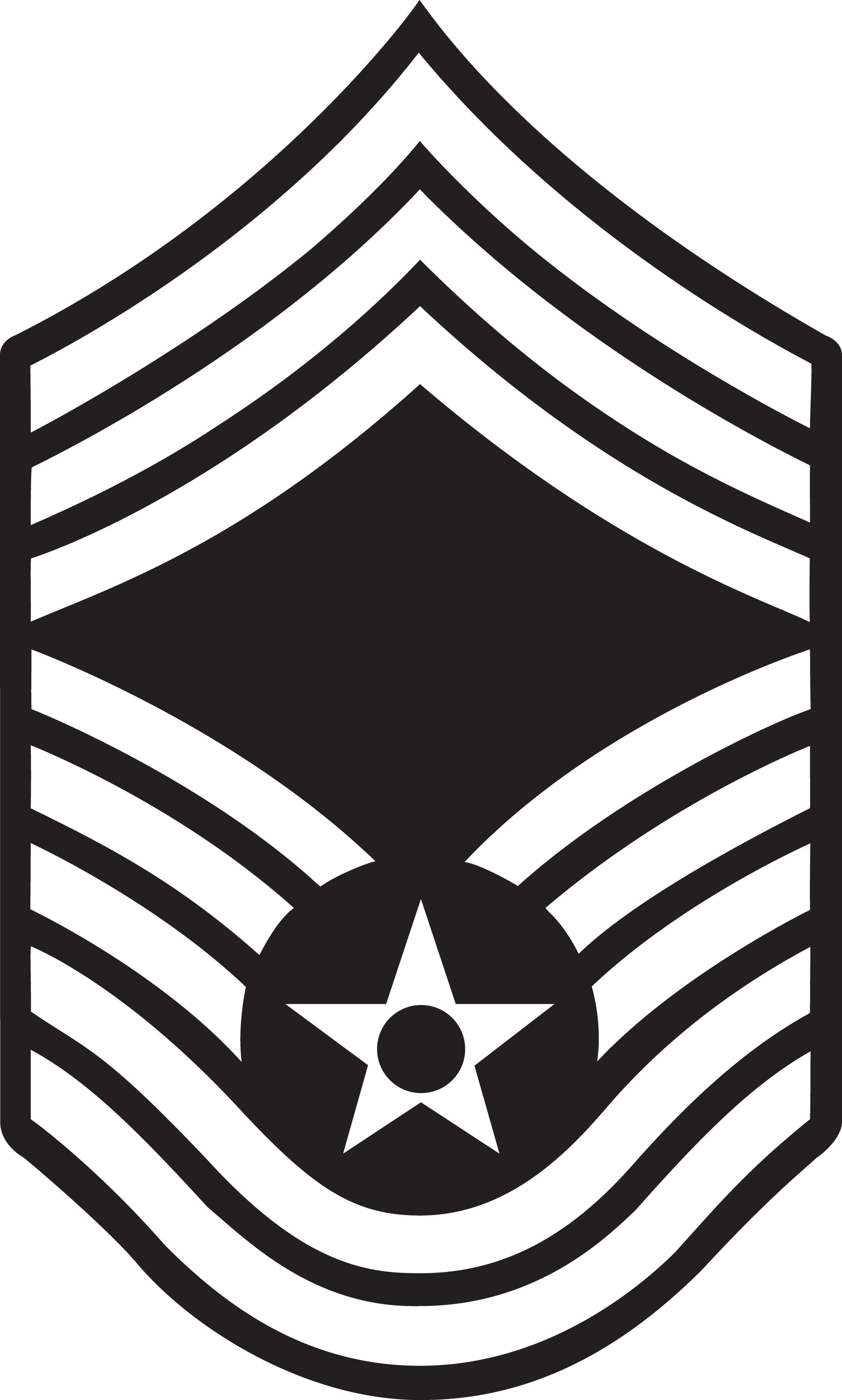 Air Force Drill Sergeant Clip Art