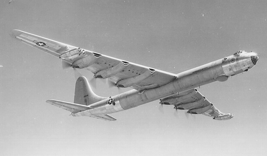1950's -- B-36 Peacemaker (U.S. Air Force photo)