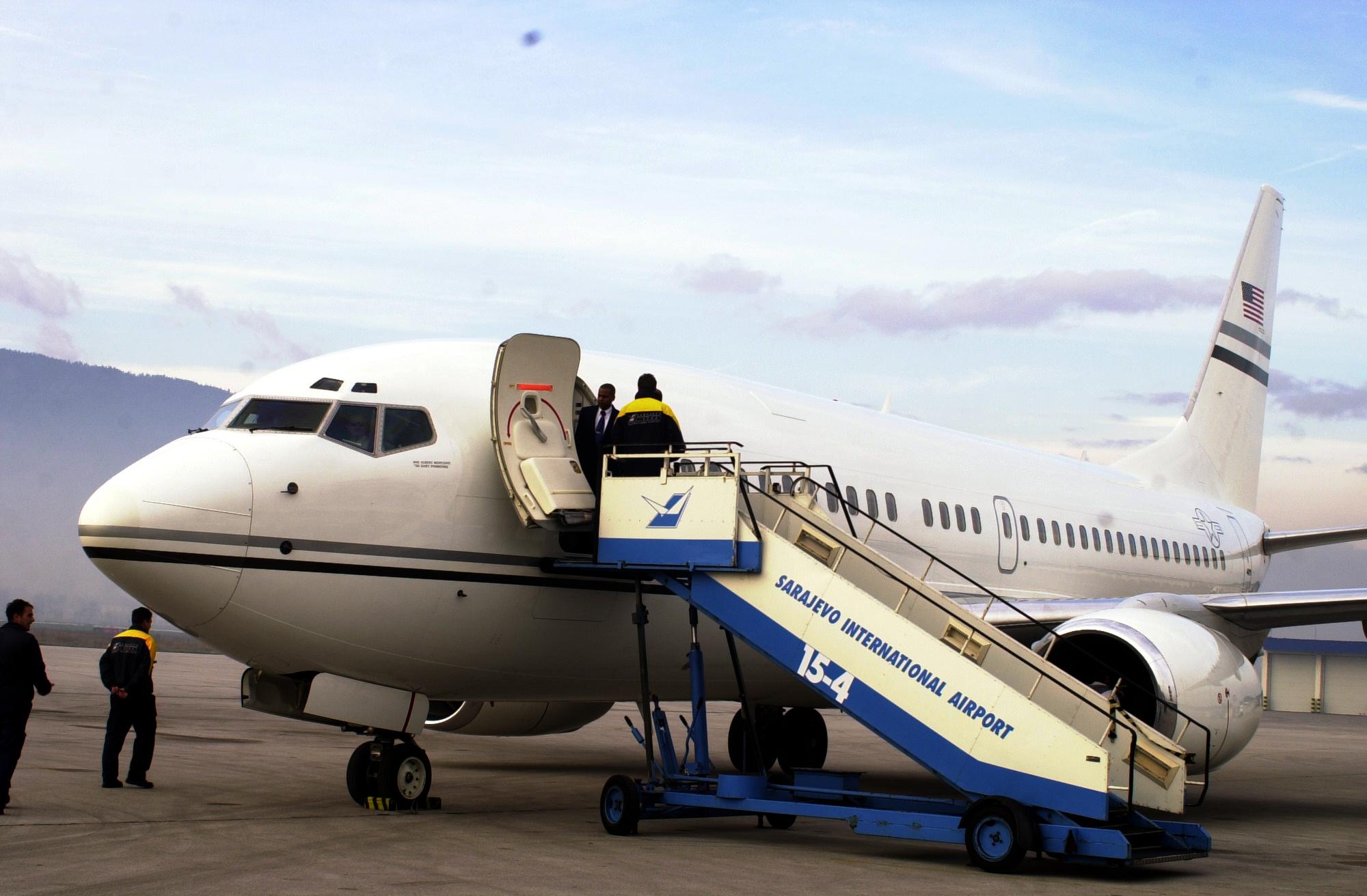 D C Guardsmen Receive 737s