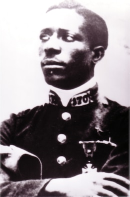 EARLY YEARS -- Eugene Jacques Bullard, the first African-American combat pilot, was one of 200 Americans who flew for France in World War I.