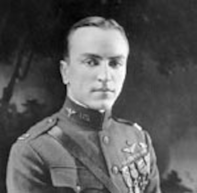 """EARLY YEARS -- Edward Vernon Rickenbacker was the American """"Ace of Aces"""" in World War I. Born in Columbus, Ohio, 1890, he gained fame as a race car driver before joining the service. He started in the U. S. Army as a chauffeur to Army Gen. John J. Pershing."""