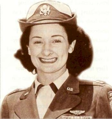 """1950's -- In 1938, Lillian Kinkella Keil's mother thought her daughter might like to be one of a brand new group of women, called """"stewardesses,"""" so she advised her to go to United Airline's Oakland base and take a look. Keil, a registered nurse, had never seen an airplane and never heard of a stewardess, but one look and she was hooked. This pioneer in passenger care would later combine her two careers and become the most decorated woman in U.S. military history."""