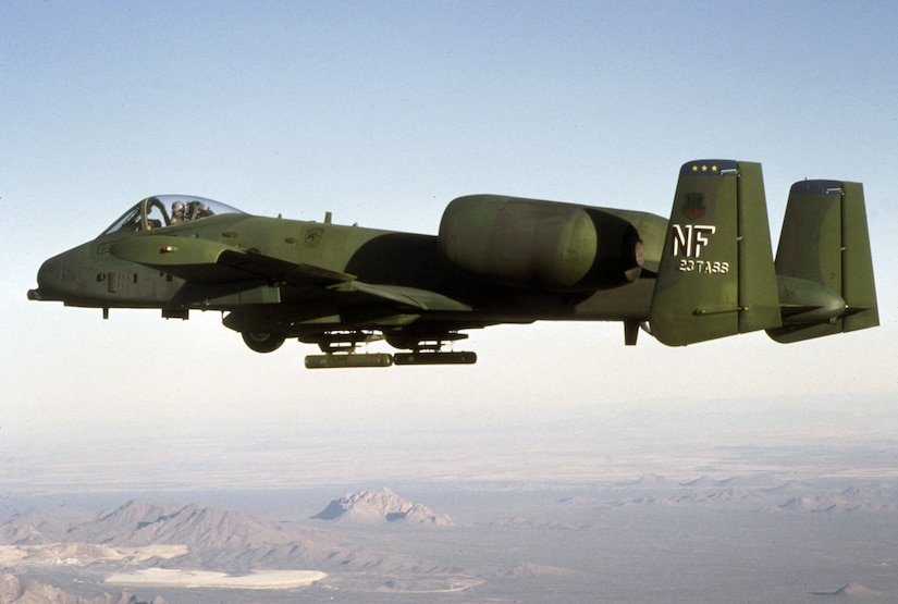 1970s -- The A-10 Thunderbolt in flight. (U.S. Air Force photo)