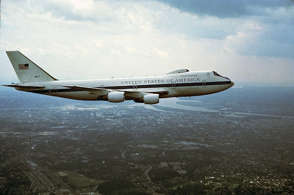 1980s -- The first E-4B model was delivered to the Air Force in January 1980. (U.S. Air Force photo)