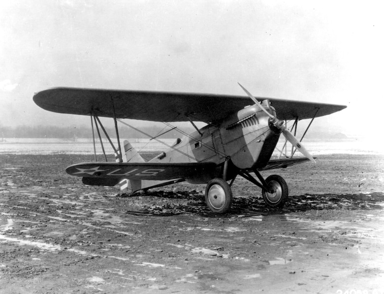 EARLY YEARS-- The Curtiss P-1 Hawk was the first US Army aircraft to be assigned the P (Pursuit) designation.  The first production P-1, serial number 25-410, was delivered on 17 August, 1925.