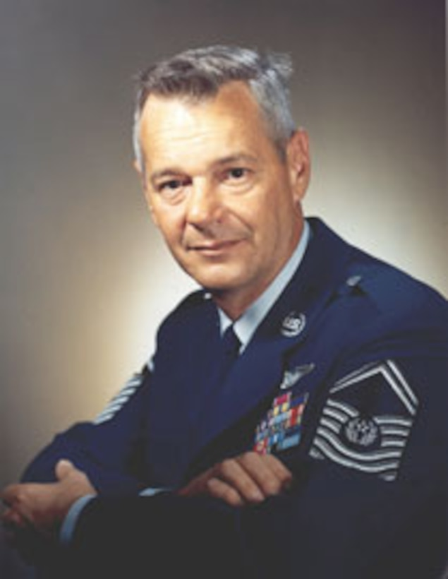 1990's -- Chief Master Sgt. of the Air Force Paul W. Airey, U.S. Air Force Photo