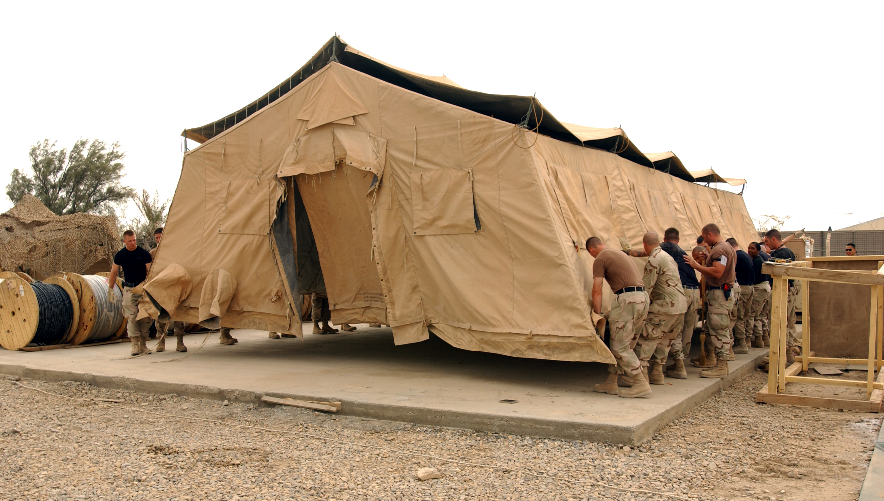 TALLIL AIR BASE Iraq --Twenty members of the 407th Expeditionary Communications Squadron remove ?  sc 1 st  AF.mil & Photos