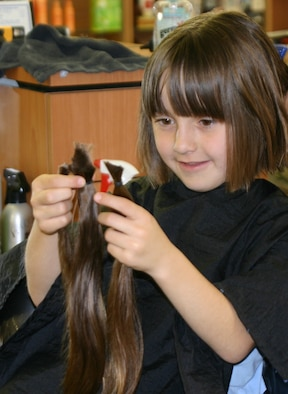 free haircut for locks of donation sheppard donates hair for second time gt u s air 3727