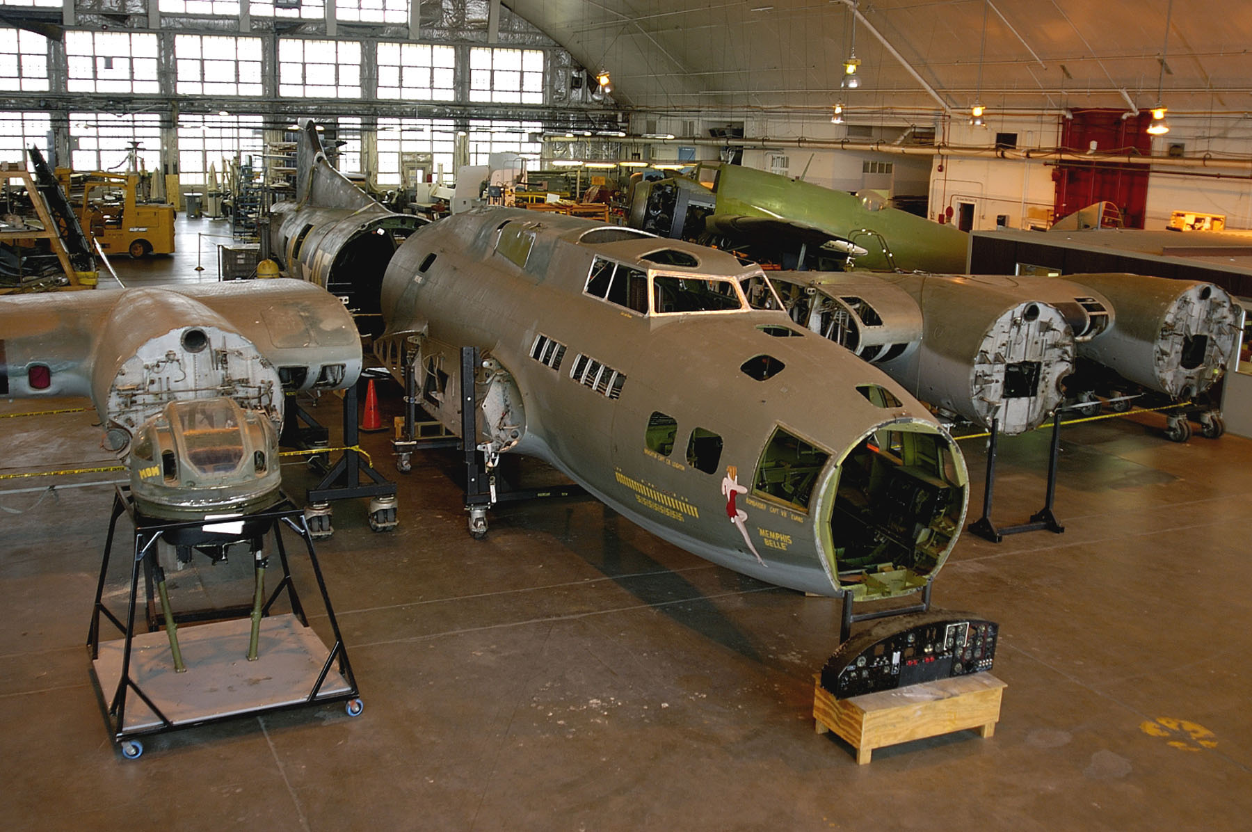 museum restoration division seeks memphis belle photos national museum of the us air force. Black Bedroom Furniture Sets. Home Design Ideas