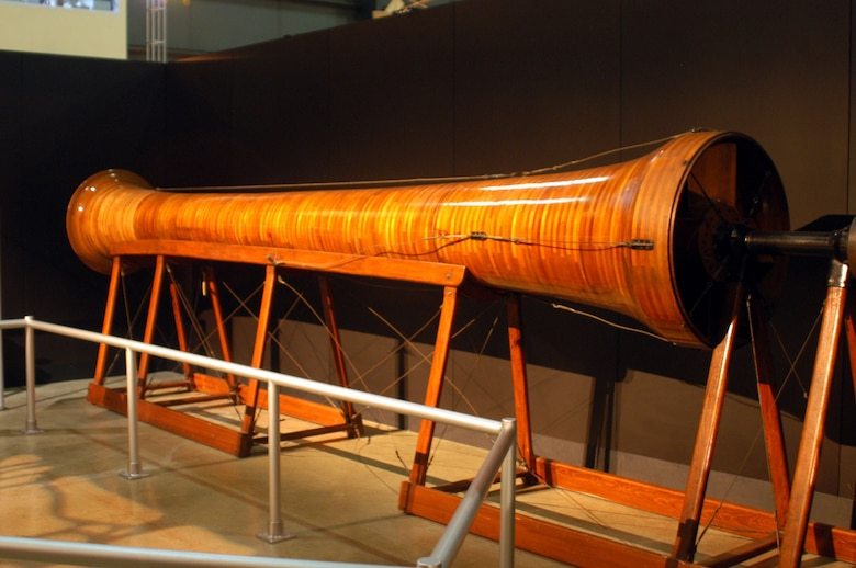 DAYTON, Ohio -- Wright Brothers 1916 Wind Tunnel on display in the Early Years Gallery at the National Museum of the United States Air Force. (U.S. Air Force photo)