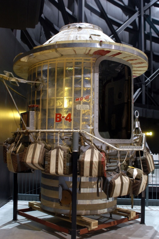 DAYTON, Ohio -- Stargazer Gondola at the National Museum of the United States Air Force. (U.S. Air Force photo)