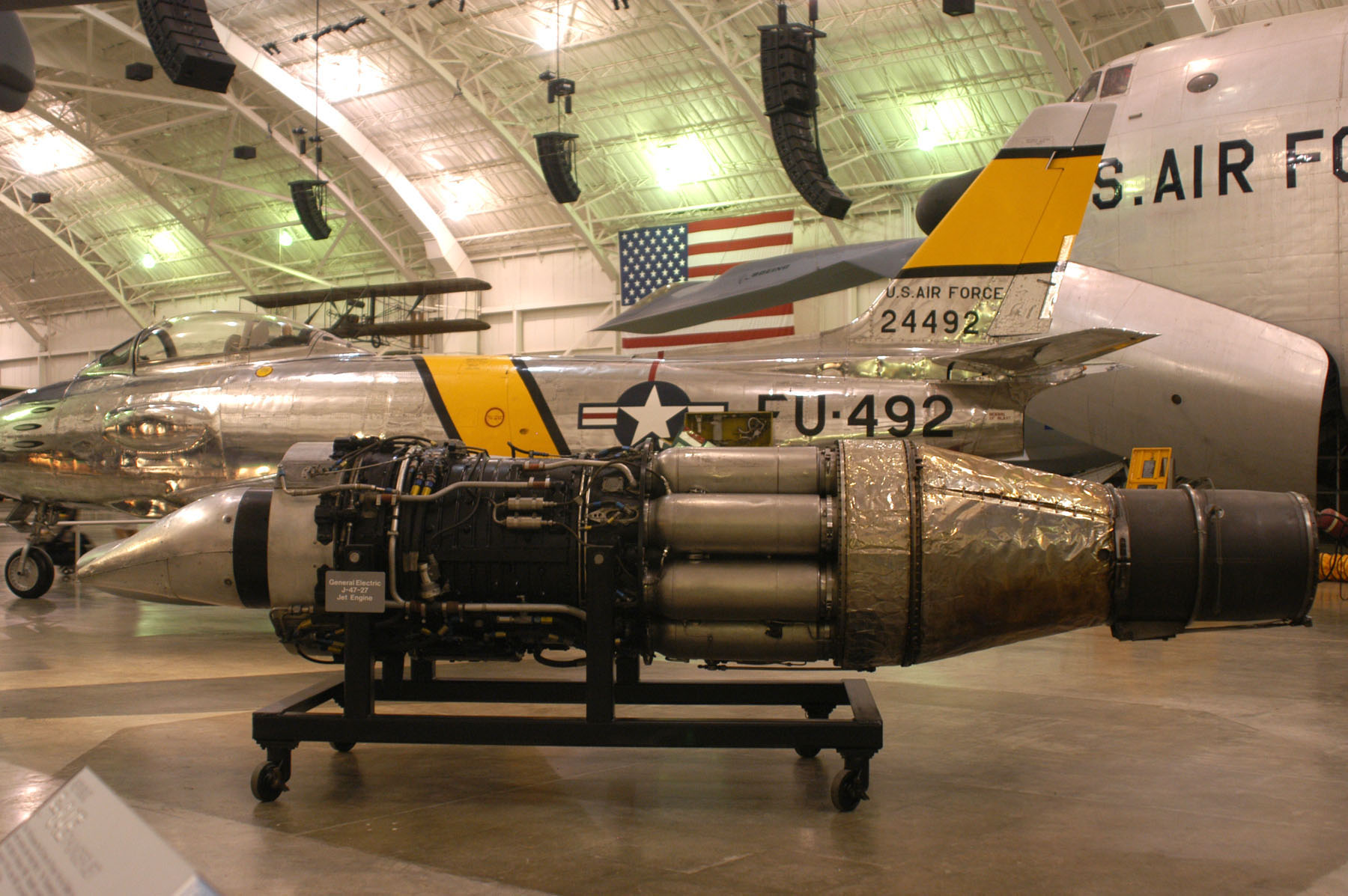 General Electric J47 Turbojet National Museum of the US Air