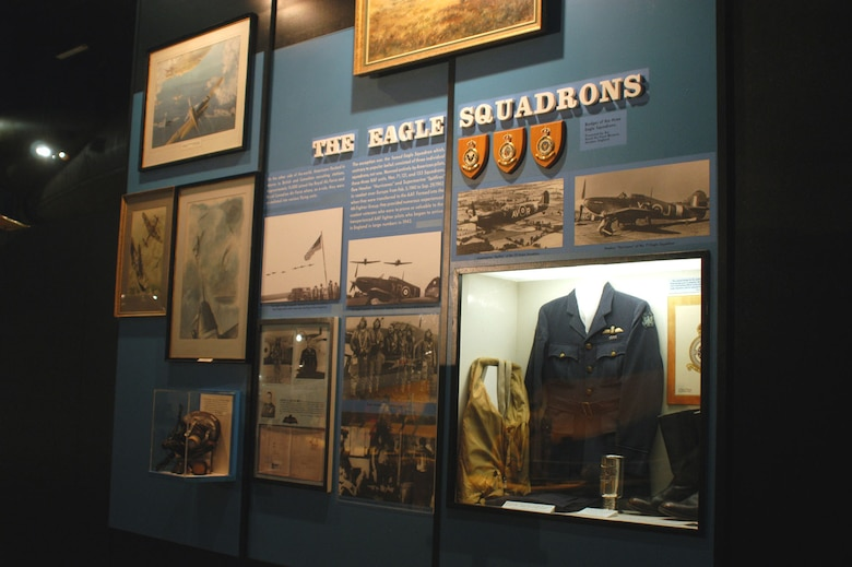 DAYTON, Ohio -- Eagle Squadrons exhibit at the National Museum of the United States Air Force. (U.S. Air Force photo)