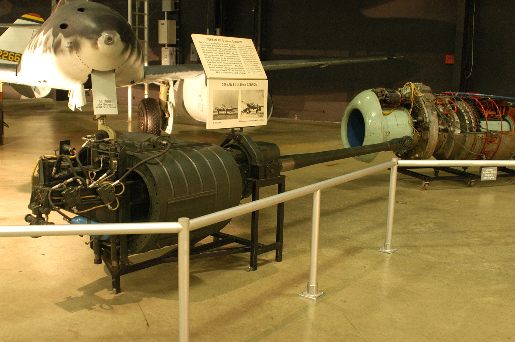 German 50 Mm Anti Tank Gun: German BK-5 50mm Cannon > National Museum Of The US Air