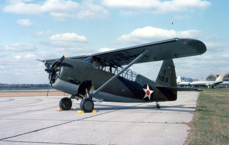 DAYTON, Ohio -- Curtiss O-52 Owl at the National Museum of the United States Air Force. (U.S. Air Force photo)