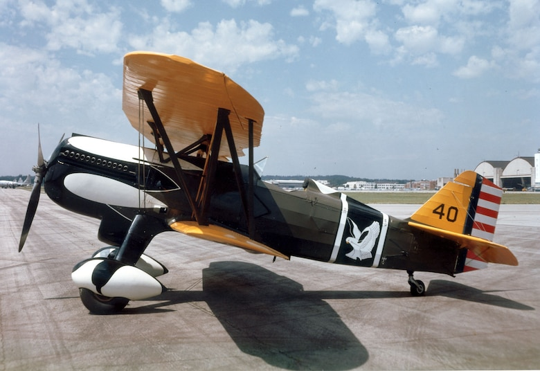 DAYTON, Ohio -- Curtiss P-6E Hawk at the National Museum of the United States Air Force. (U.S. Air Force photo)