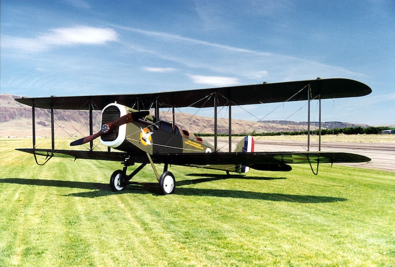 DAYTON, Ohio -- De Havilland DH-4 at the National Museum of the United States Air Force. (U.S. Air Force photo)