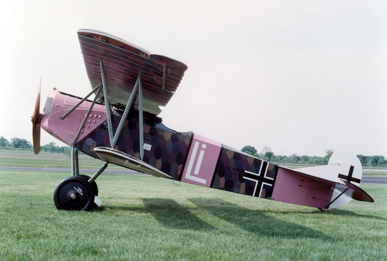 DAYTON, Ohio -- Fokker D. VII at the National Museum of the United States Air Force. (U.S. Air Force photo)
