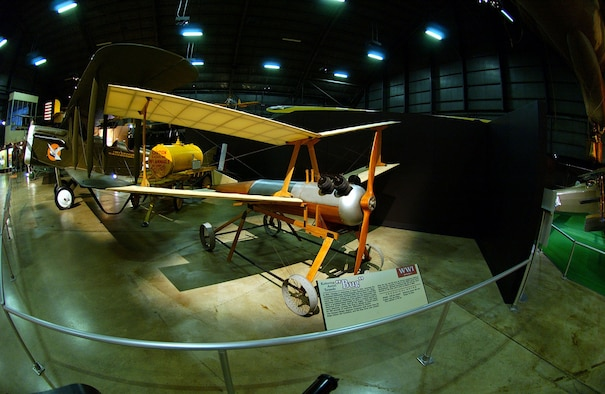 """DAYTON, Ohio -- Kettering Aerial Torpedo """"Bug"""" in the Early Years Gallery at the National Museum of the United States Air Force. (U.S. Air Force photo)"""