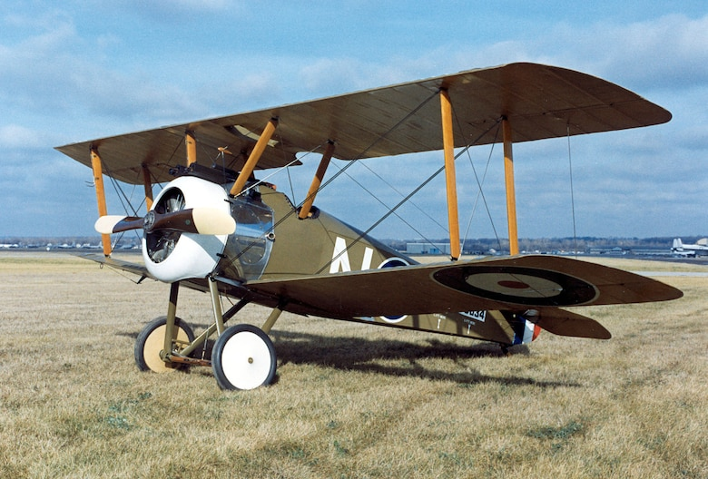 DAYTON, Ohio -- Sopwith F-1 Camel at the National Museum of the United States Air Force. (U.S. Air Force photo)