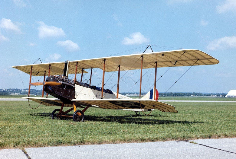 DAYTON, Ohio -- Standard J-1 at the National Museum of the United States Air Force. (U.S. Air Force photo)
