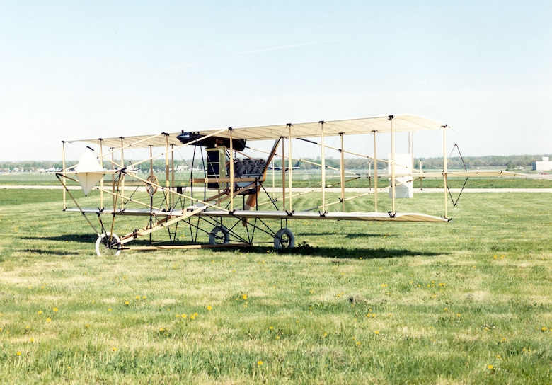 DAYTON, Ohio -- Curtiss 1911 Model D at the National Museum of the United States Air Force. (U.S. Air Force photo)
