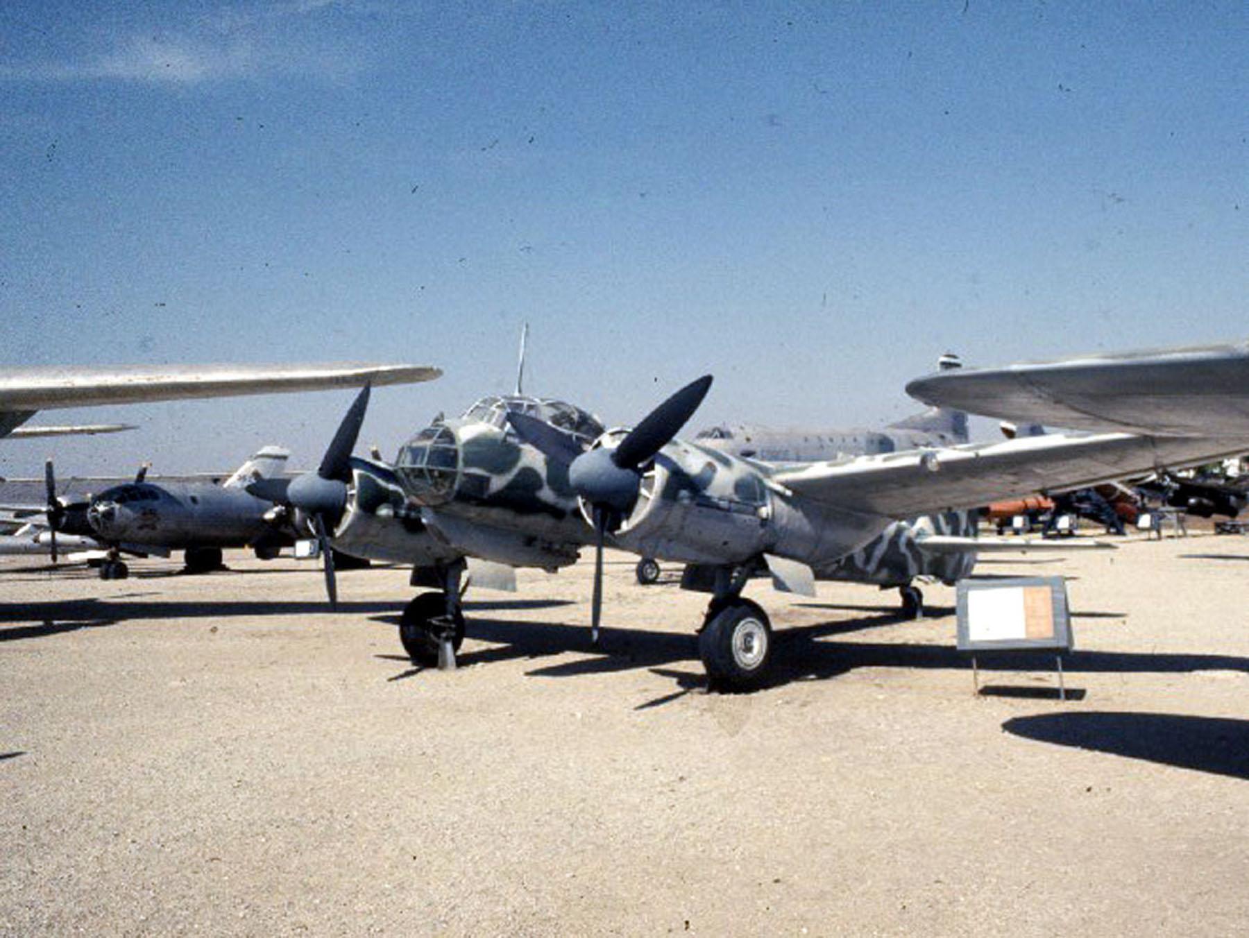 Junkers Ju 88D-1/Trop > National Museum Of The US Air