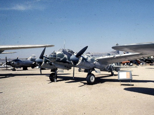 DAYTON, Ohio -- Junkers Ju 88D at the National Museum of the United States Air Force. (U.S. Air Force photo)