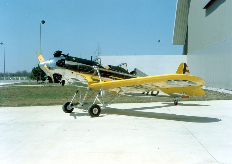 DAYTON, Ohio -- Ryan PT-22 Recruit at the National Museum of the United States Air Force. (U.S. Air Force photo)