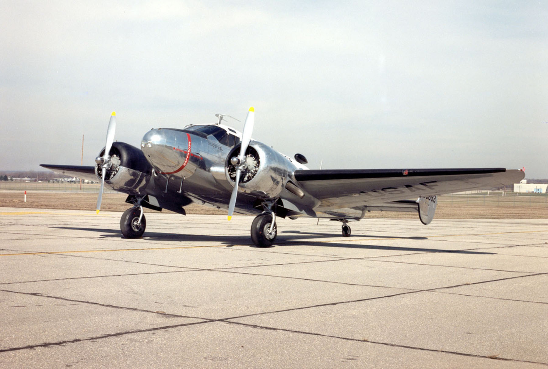 beech c 45h expeditor national museum of the us air forceâ display