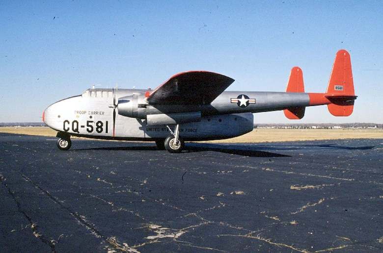 DAYTON, Ohio -- Fairchild C-82 Packet at the National Museum of the United States Air Force. (U.S. Air Force photo)