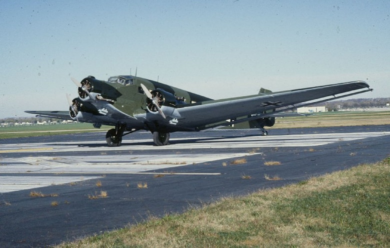 DAYTON, Ohio -- Junkers Ju 52 at the National Museum of the United States Air Force. (U.S. Air Force photo)