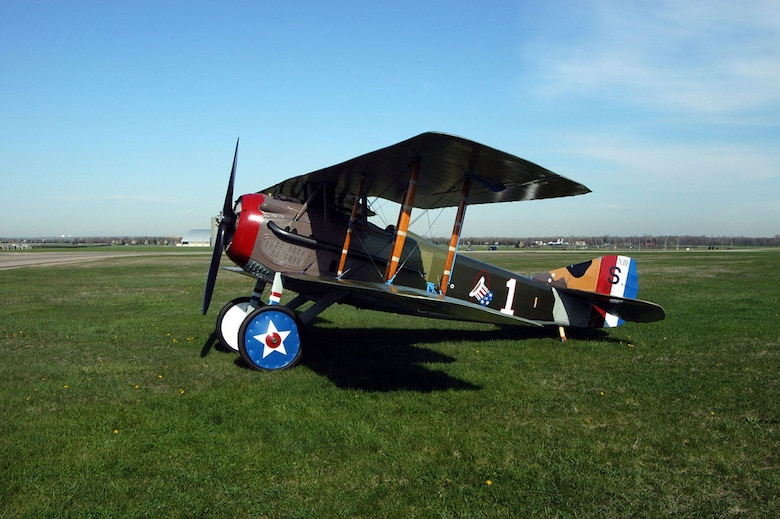 DAYTON, Ohio -- SPAD XIII at the National Museum of the United States Air Force. (U.S. Air Force photo)
