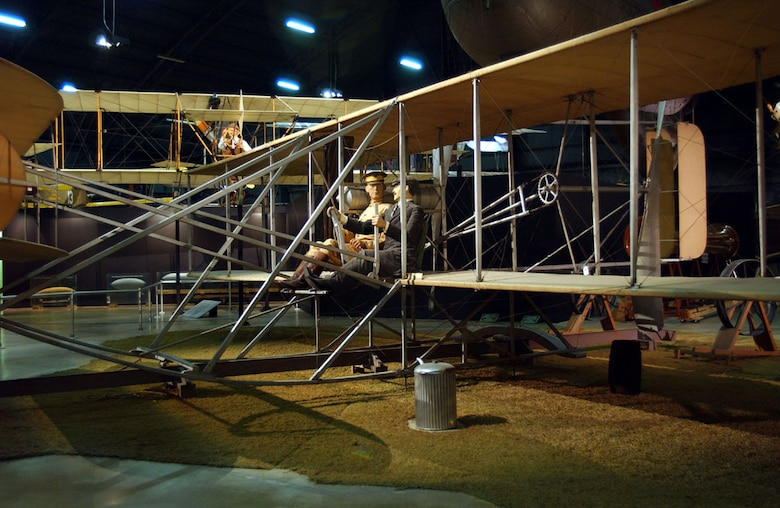 DAYTON, Ohio -- Wright 1909 Military Flyer in the Early Years Gallery at the National Museum of the United States Air Force. (U.S. Air Force photo)