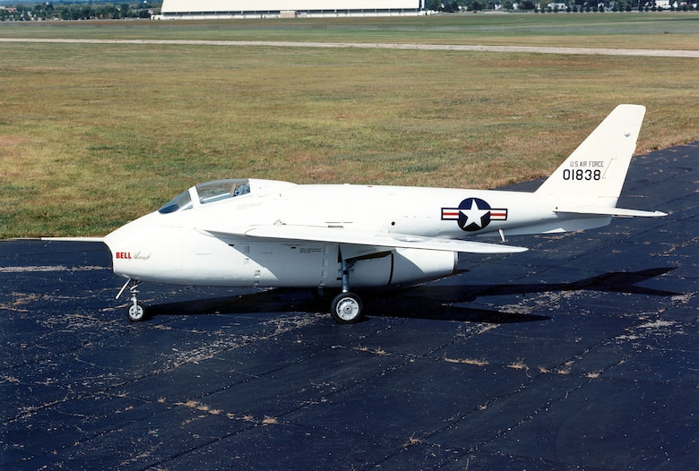DAYTON, Ohio --  Bell X-5 at the National Museum of the United States Air Force. (U.S. Air Force photo)