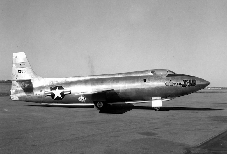 DAYTON, Ohio -- Bell X-1B at the National Museum of the United States Air Force. (U.S. Air Force photo)