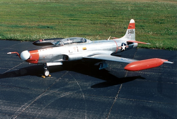 DAYTON, Ohio -- Lockheed NT-33A at the National Museum of the United States Air Force. (U.S. Air Force photo)