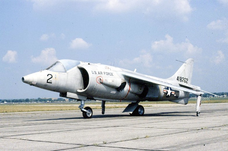 DAYTON, Ohio -- Hawker Siddeley XV-6A Kestrel at the National Museum of the United States Air Force. (U.S. Air Force photo)