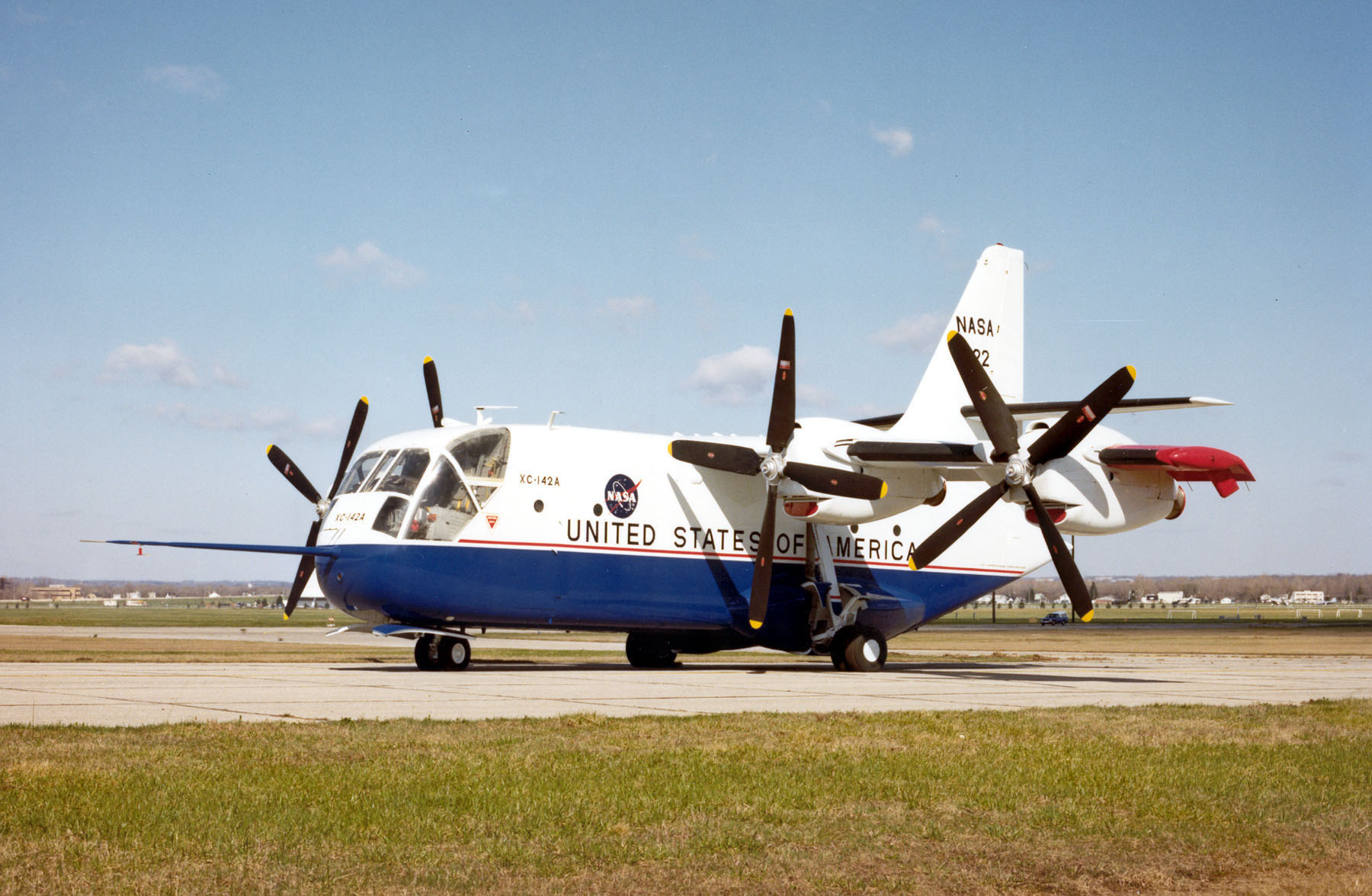 Chance-Vought/LTV XC-142A > National Museum of the US Air