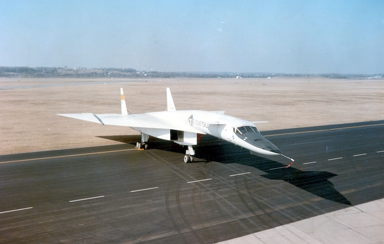 DAYTON, Ohio -- North American XB-70 Valkyrie at the National Museum of the United States Air Force. (U.S. Air Force photo)