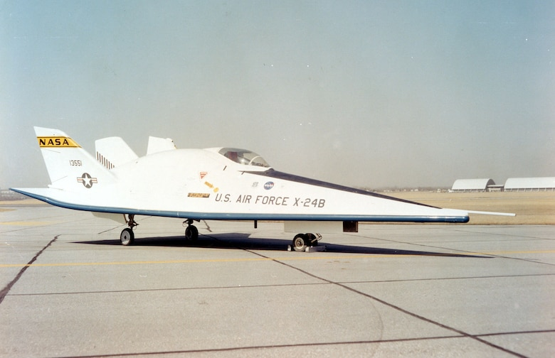DAYTON, Ohio -- Martin X-24B at the National Museum of the United States Air Force. (U.S. Air Force photo)
