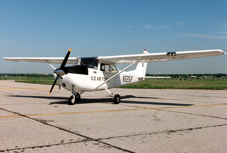 DAYTON, Ohio -- Cessna T-41A Mescalero at the National Museum of the United States Air Force. (U.S. Air Force photo)